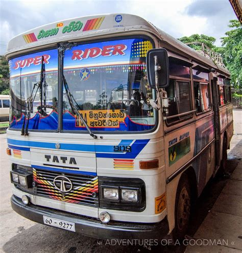 guide  local transportation  sri lanka greg goodman photographic storytelling