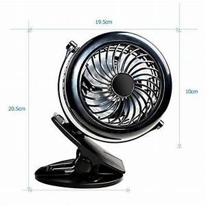 Petit Ventilateur De Bureau : petit ventilateur pince comment choisir les meilleurs en france pour 2019 chauffage et ~ Nature-et-papiers.com Idées de Décoration