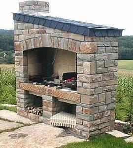 Barbecue En Pierre Mr Bricolage : barbecue en pierre ~ Dallasstarsshop.com Idées de Décoration
