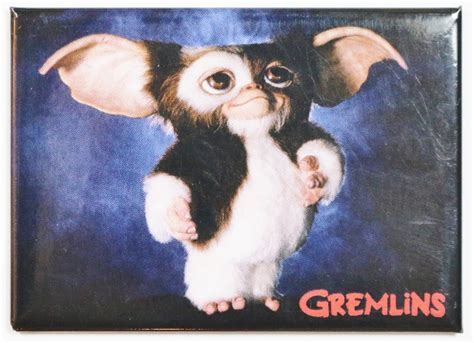 Gizmo The Gremlins FRIDGE MAGNET Classic Movie Poster