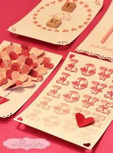 Karten Basteln Vorlagen : karten zum valentinstag selber machen ich liebe deko ~ Frokenaadalensverden.com Haus und Dekorationen