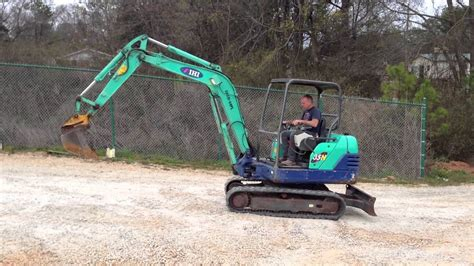 ihi   mini excavator  sale  waters equipment youtube