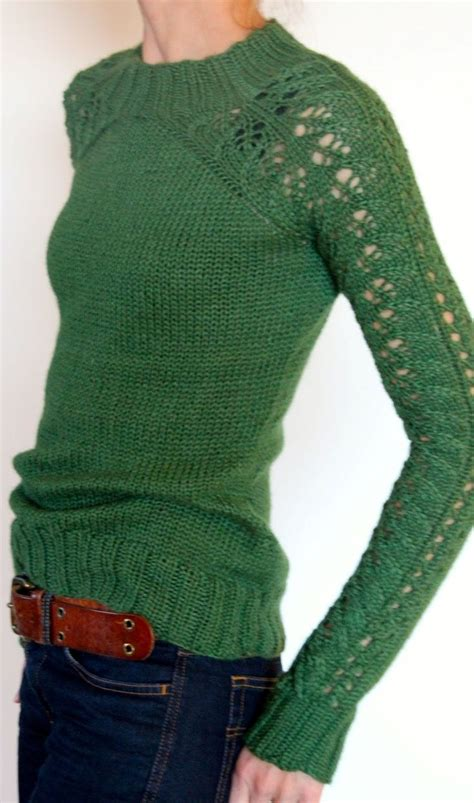 knitted sweaters emerald green dress up dress