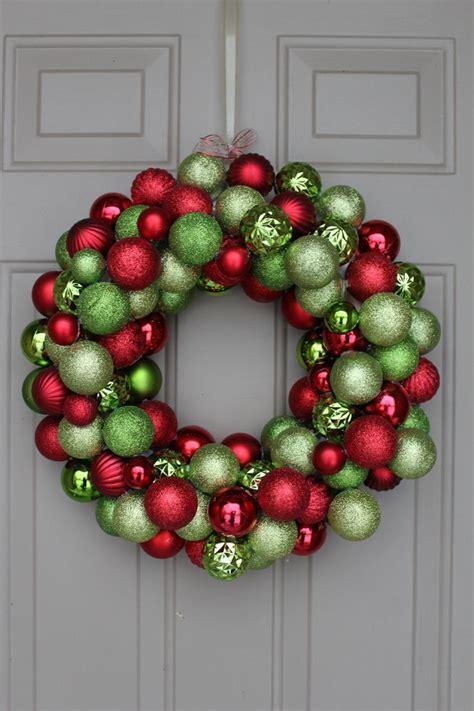 best 25 ornament wreath ideas on pinterest christmas