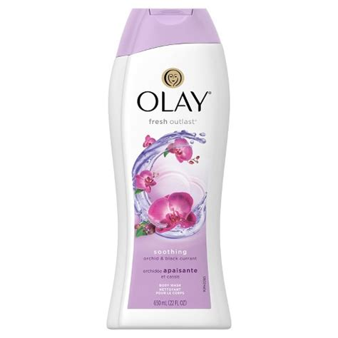 olay shower gel olay fresh outlast soothing orchid black currant