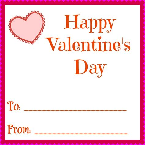 valentines day card kids printable valentines day cards