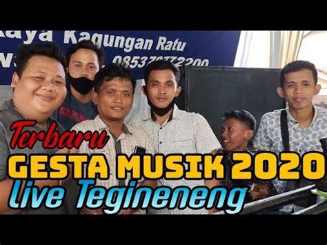 Terbaru gesta musik 2020 hadir lagi kolaborasi daing jhepy dan mr pendok. GESTA MUSIK TERBARU 2020   Live Tegineneng - YouTube