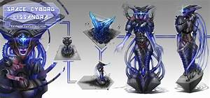League of Legends_Lissandra_Space Cyborg_Concept by ...