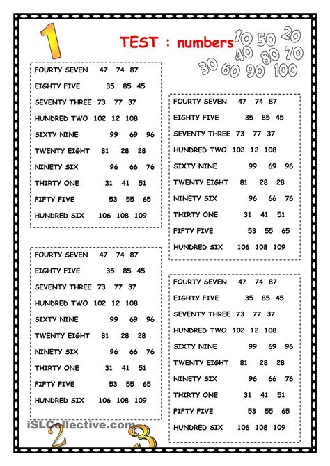 numbers numbers days of the week months gor pinterest numbers english and worksheets