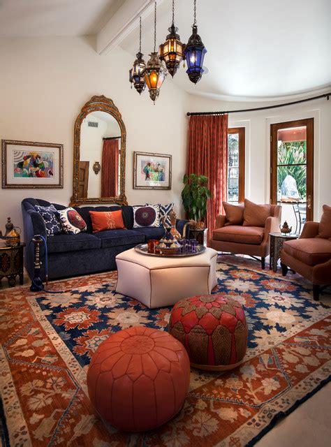 moroccan cabana mediterranean living room los