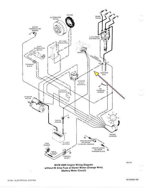starting electrical issue on 1984 mercruiser 488 4 cylinder page 1 iboats boating forums