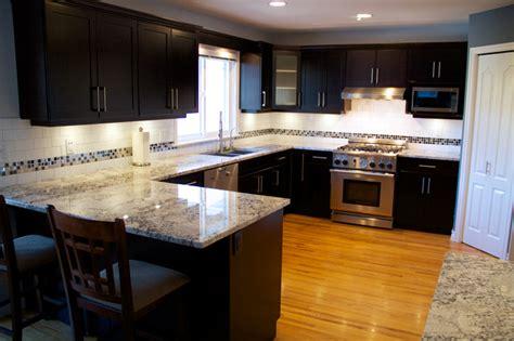 veneer kitchen cabinet refacing cabinet refacing done in cherry veneer contemporary 6758
