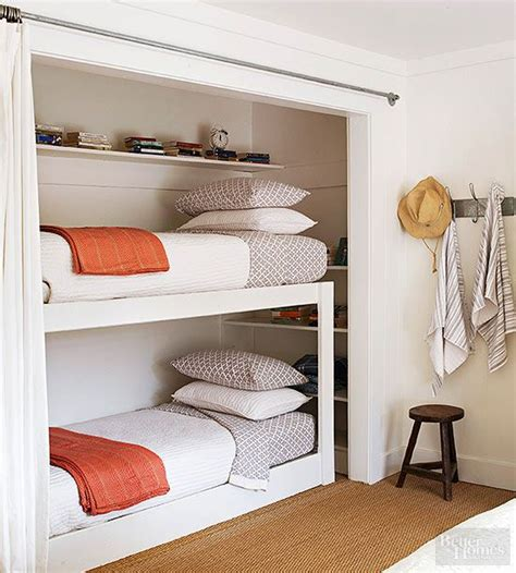 pin  misty  small space living bed  closet ideas bed  closet closet bunk beds