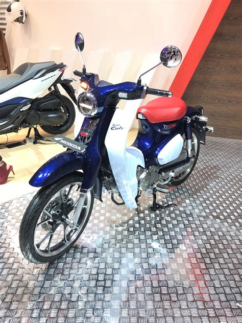 Motor Cantik by Honda C125 Terjual 174 Unit Di Giias Indobikermags