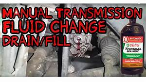 Changing Manual Transmission Fluid 2005 Saturn Ion