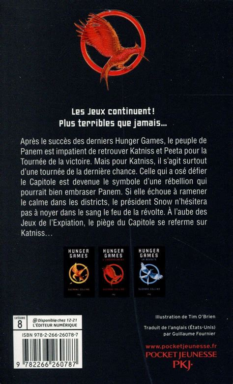 livre hunger t 2 l embrasement suzanne collins