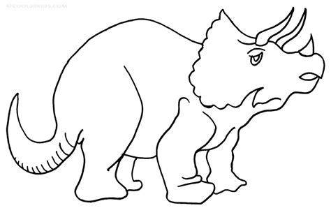 Triceratops Kleurplaat by Printable Triceratops Coloring Pages For Cool2bkids