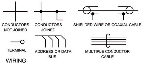 electrical schematic symbols names and identifications symbols diagram electrical wiring