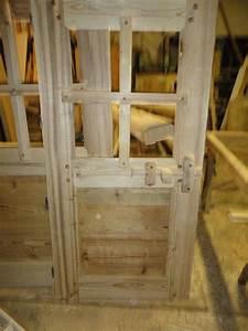 Porte Interieur En Bois : porte int rieur rustique fermeture bois 1 ~ Dailycaller-alerts.com Idées de Décoration