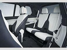 Studio shots of the new BMW X7