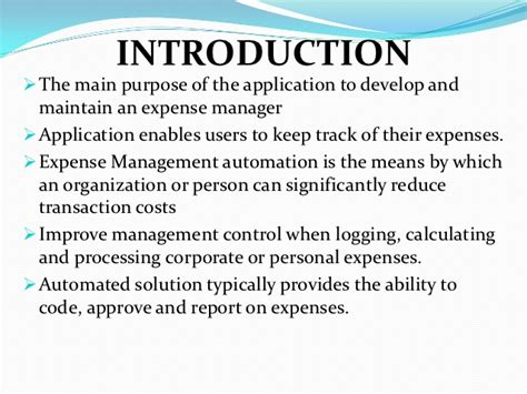 Expense Manager Application In Java