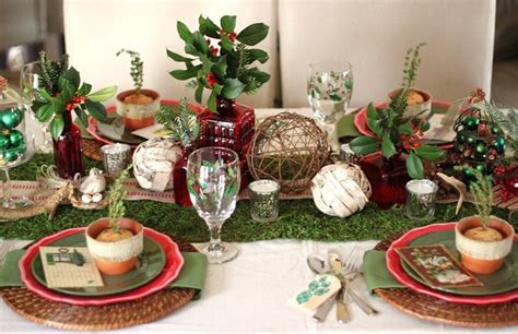 Rustic Woodland Christmas Tabletop  Celebrations At Home