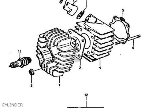 Suzuki Jr 50 Parts by Suzuki Jr50 1990 L Parts List Partsmanual Partsfiche