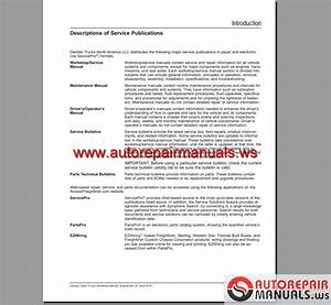 Freightliner Century Class Trucks Workshop Manual
