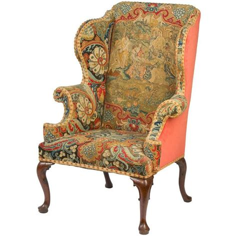 Upholstery Material For Chairs by Wingback Chair Tapestry Upholstered Furniture