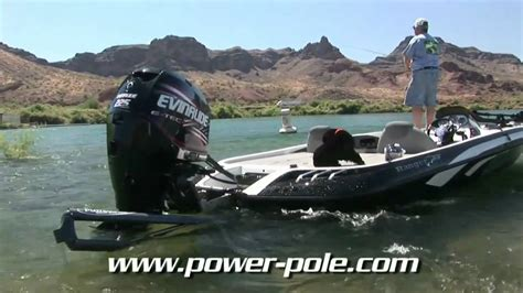 Jd Power Bass Boat Ratings by Power Pole Shallow Water Anchor In Strong Current
