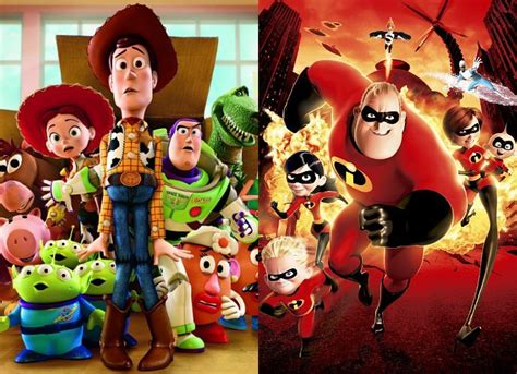 toy story   pushed    incredibles