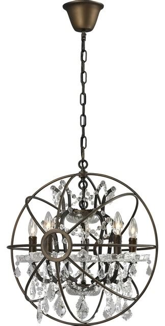 satellite chandelier rustic chandeliers by