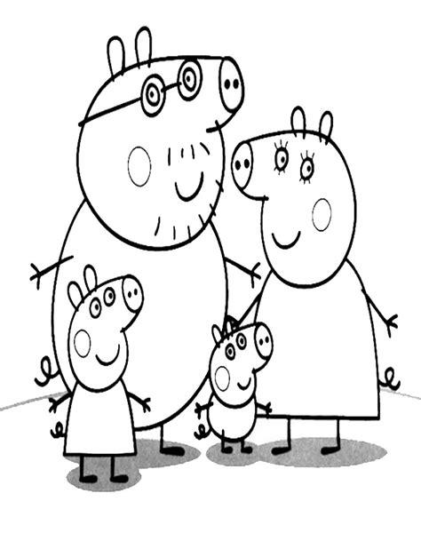 disegni da colorare e stare peppa pig disegni di peppa pig da colorare e stare