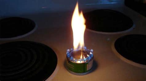 comment cuisiner une canette l 39 astuce cing pour faire un réchaud avec une canette