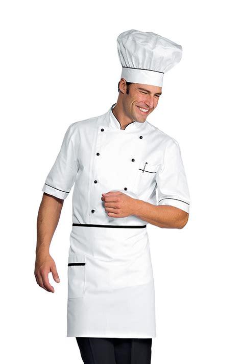 tablier blanc de cuisine tablier de cuisine taille cm 70x46 avec poches blanc noir