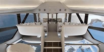 Interior Airlander Posh Aircraft Longest Feet Flying