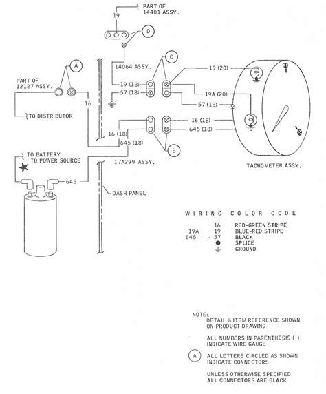 ford mustang 1968 tachometer wiring diagram all about