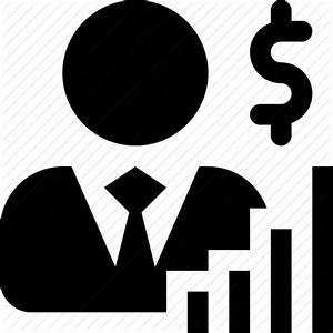 Broker, capital, capitalist, economist, investor icon ...