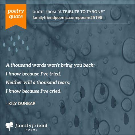 popular poems  death heartfelt poems