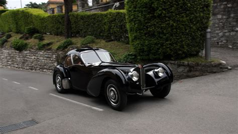The bugatti type 57 and later variants (including the famous atlantic ) was an entirely new design by jean bugatti , son of founder ettore. Bugatti Type 57SC Atlantic 1937