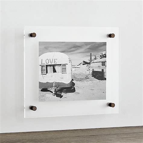 gunmetal  floating acrylic wall frame reviews