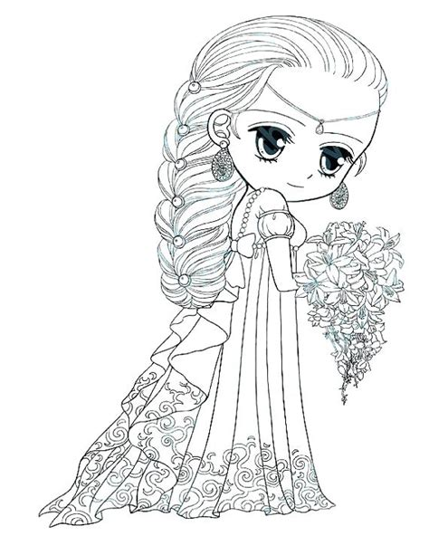 coloring pages  girls cute  girl doll sweet