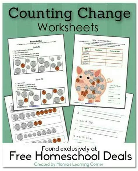 17 best images about money on pinterest coins money worksheets and cut and paste