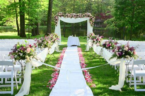 summer outdoor wedding inspiration soundsurge