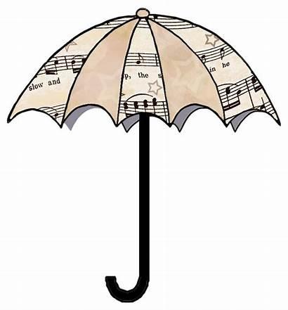 Sheet Clipart Clip Umbrella Decoupage Artbyjean Umbrellas