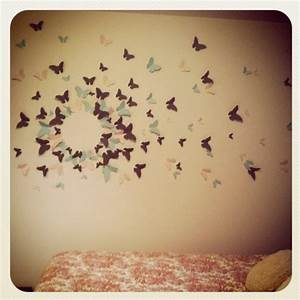 Diy butterfly wall art recycled toilet rolls