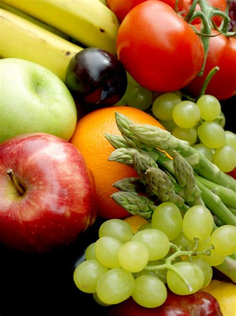 Various Fruit And Vegetables Photo  Free Download