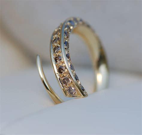 Gold Cognac Diamond Ring By Melina Clark. Fishing Rings. Joint Wedding Rings. Star Sapphire Rings. Elf Engagement Rings. 1ct Rings. Sphere Wedding Rings. Teigen Wedding Rings. Hand Crafted Wedding Wedding Rings