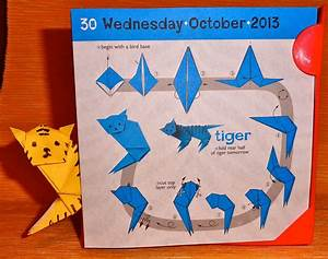 Tiger Origami Tutorial