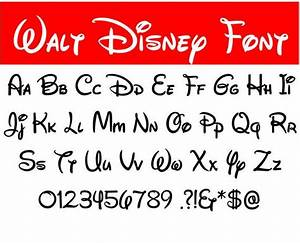 7 Best Images Of Alphabet Disney Font Printables Disney Font